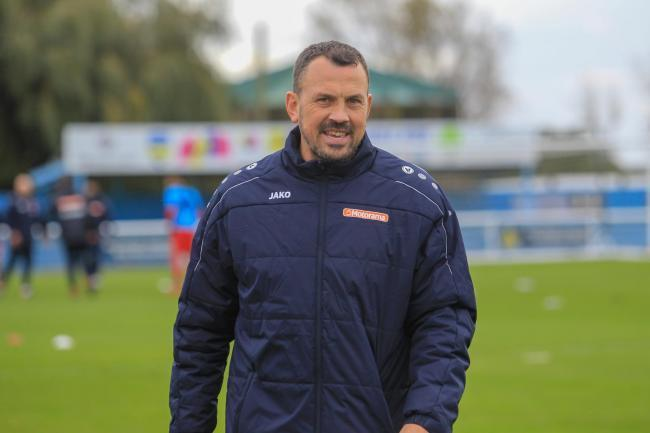 Season suspended - for Concord Rangers boss Danny Scopes
