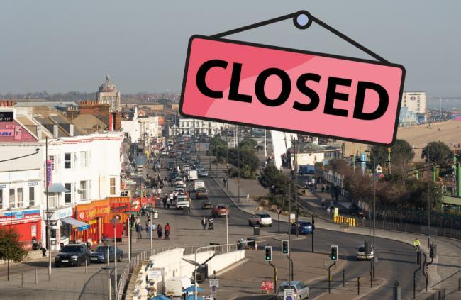 Police warning as more people flout Covid-19 lockdown on Southend seafront