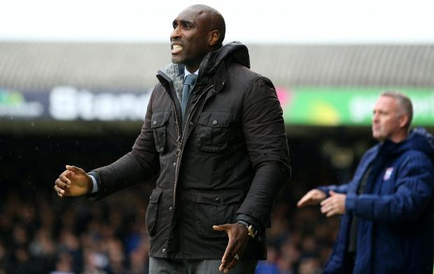 Echo: Southend boss Sol Campbell is one of a small handful of BAME managers in the English game