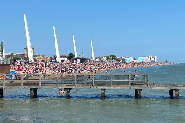 Southend 'saw big spike in confirmed virus cases after bank holiday beach visits'