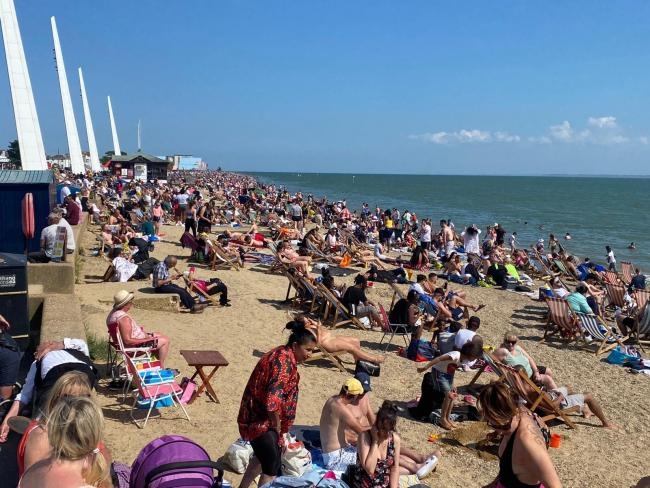 Dont't panic! Council hits back at research claiming Southend's  R-value rose to 1.6 after Bank Holiday weekend