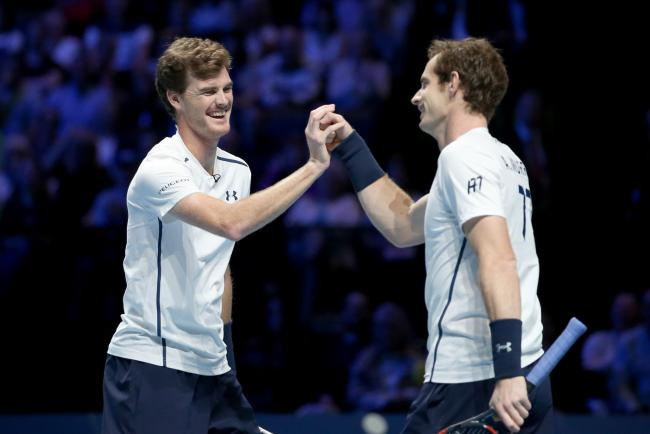 Andy Murray, right, will take part in a tournament organised by brother Jamie