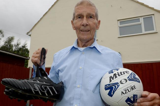 Being remembered - popular former football coach Alf Bilby