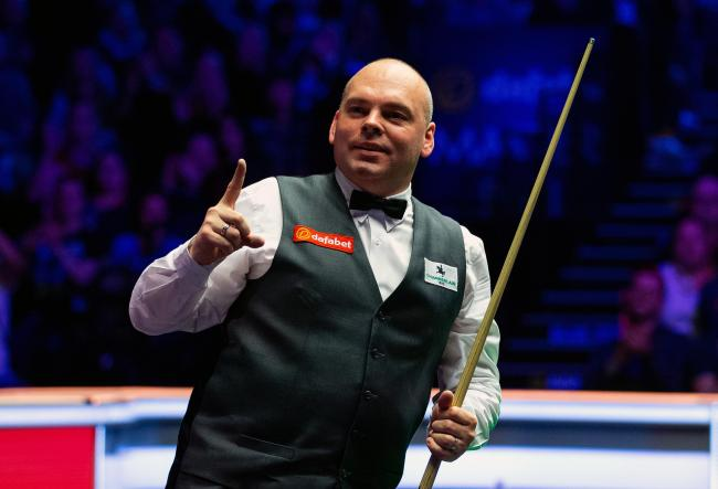 Gunning for glory - snooker star Stuart Bingham