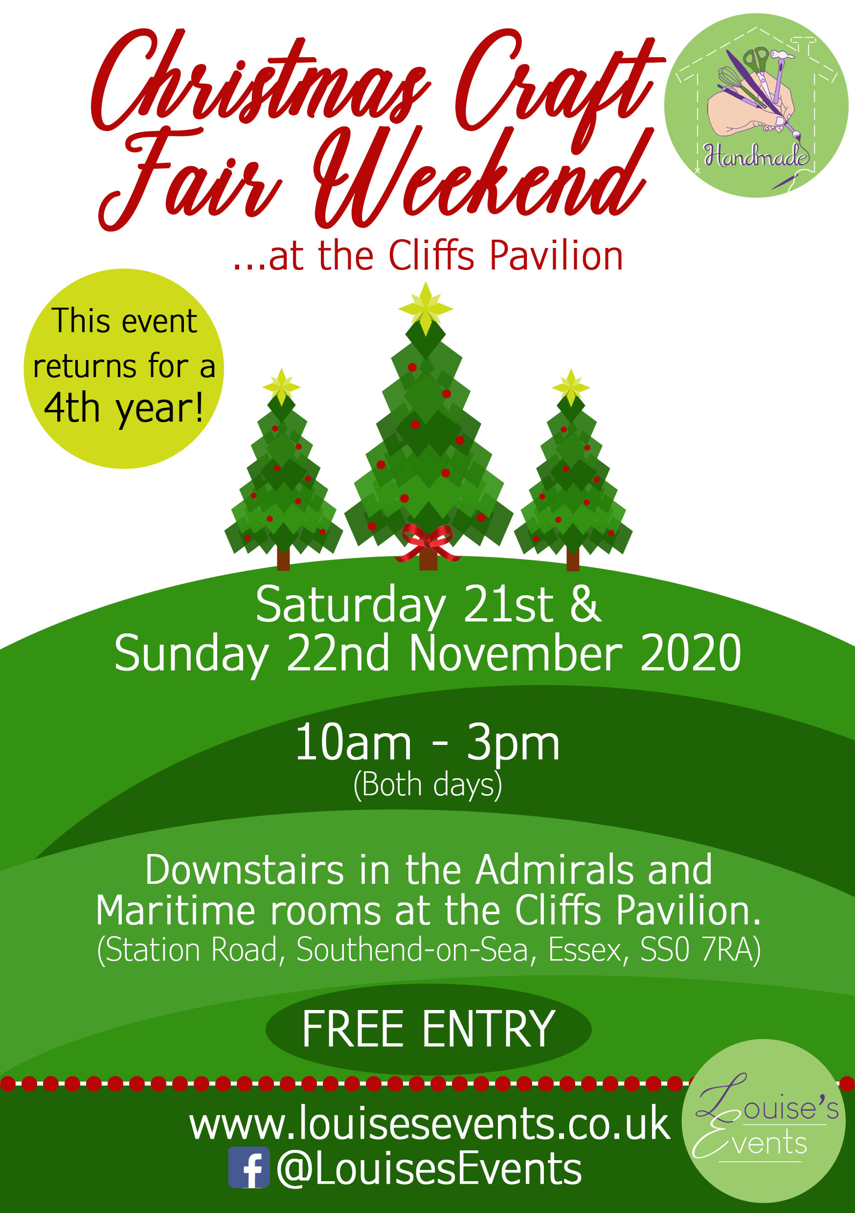 Christmas Craft Fair Weekend by Louise's Events