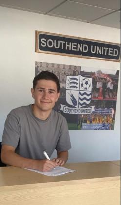 Staying put - Lewis Gard has signed a new deal with Southend United