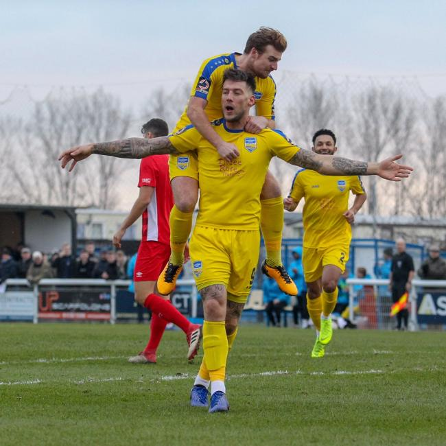Coming back - Alex Wall has returned to Concord Rangers Picture: PAUL RAFFETY