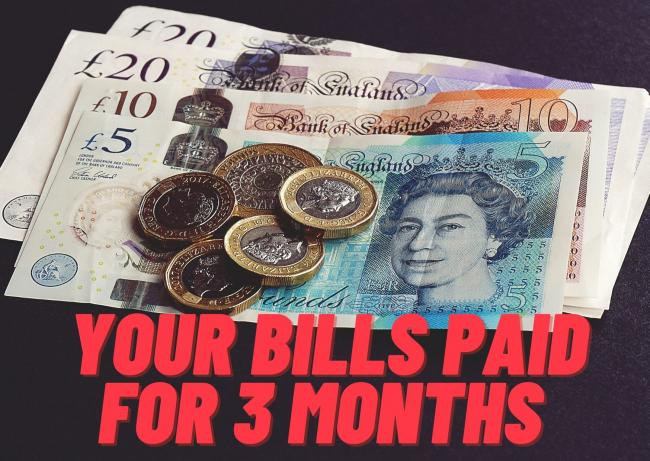 Win your bills paid for three months with our competition