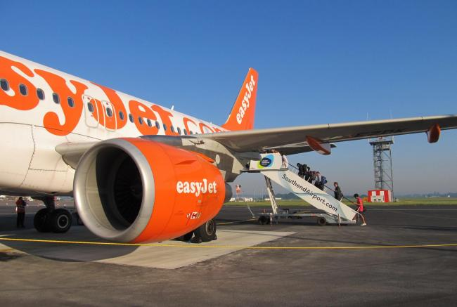 EasyJet at Southend airport - Credit: Simon Murdoch