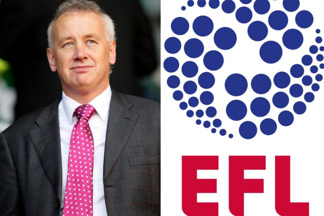 Having his say - English Football League chairman Rick Parry
