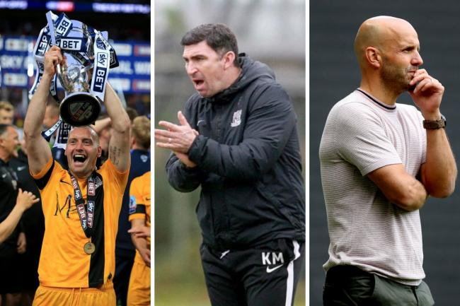Top three - Adam Barrett, Kevin Maher and Paul Tisdale received the most votes in an Echosport poll