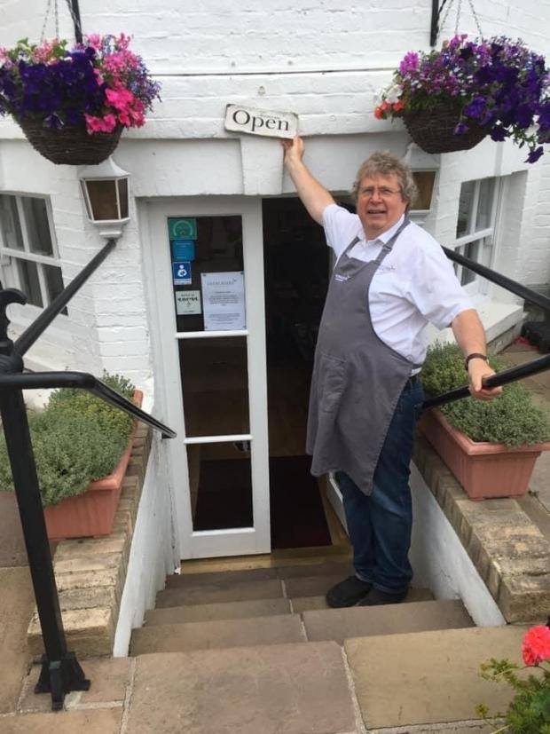 Echo: Open for business - Garry Lowen at Gleneagles guest house and tea rooms