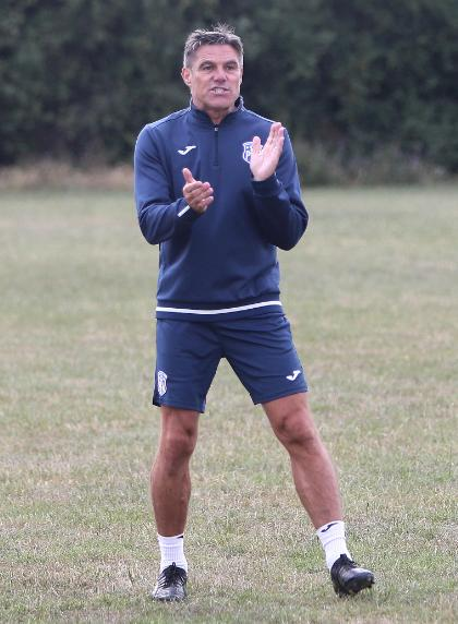 Playing his part - former Southend United manager Steve Tilson