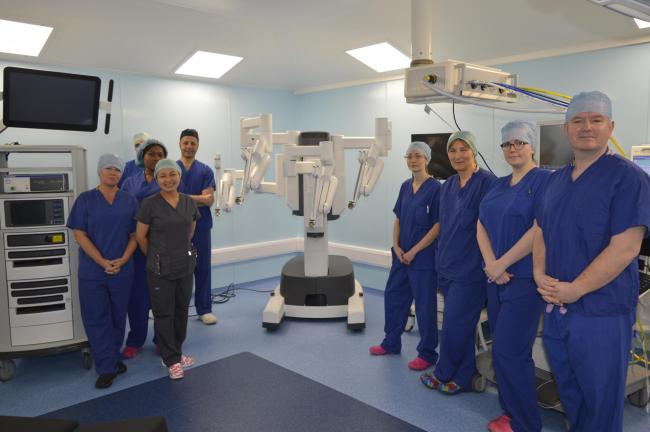 Ready to operate - state-of-the-art Da Vinci X robots are back at Southend and Broomfield