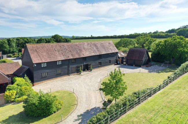£2m barn conversion home on market is slice of luxury