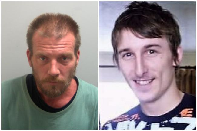 David Hanson (left) has been jailed for causing the death of Ben Greenslade (right) through dangerous driving