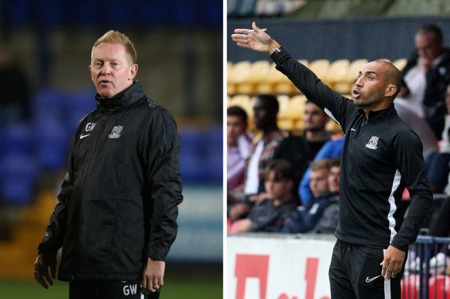 Having his say - Gary Waddock (left) feels Craig Fagan would be a great appointment for Southend United