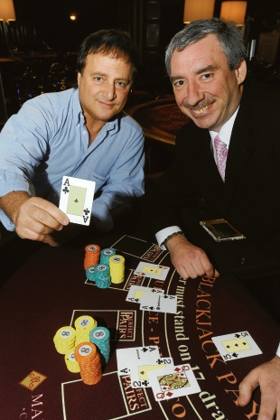 Paul Bahbout – playing his cards right with casino manager Jimmy Howard