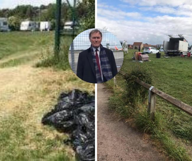 'We're sick to death of travellers and their behaviour in Southend'
