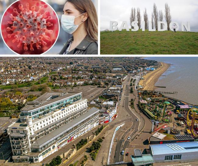 Most up to date coronavirus rates revealed for Southend, Basildon and Canvey