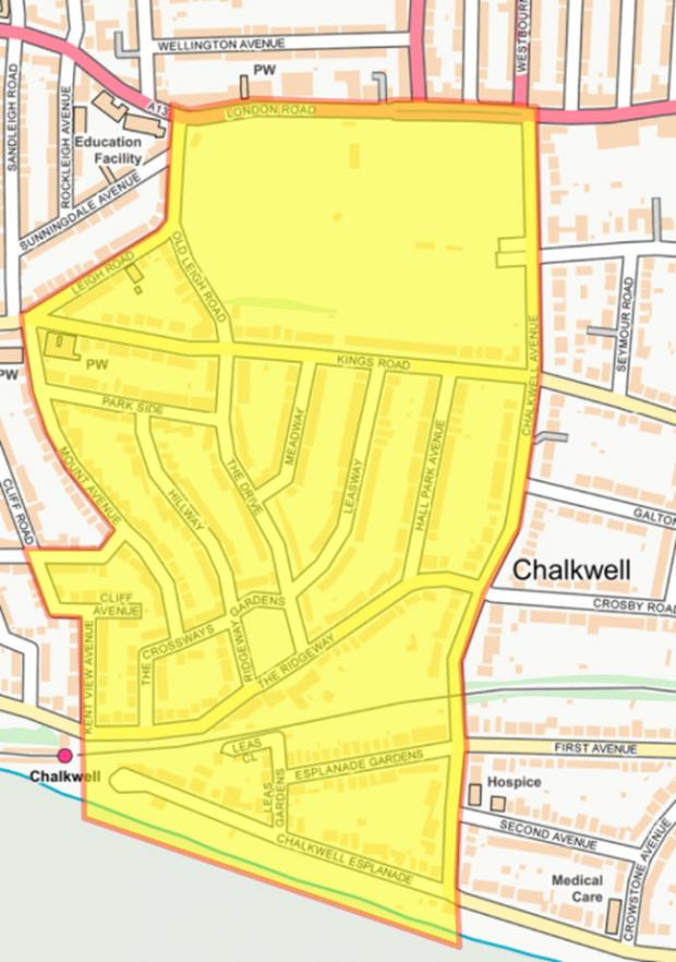 Echo: Coverage - the dispersal order covers the park and the streets surrounding it