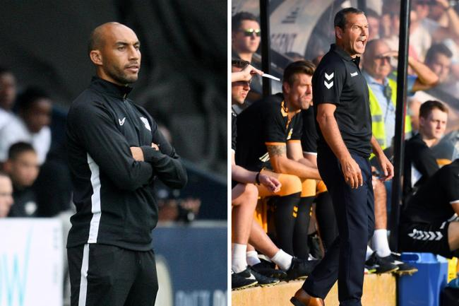Pairing up - Craig Fagan (left) would work alongside Colin Calderwood if he was named Blues boss