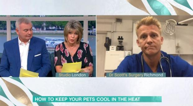 Echo: This Morning's Dr Scott Miller on ITV today