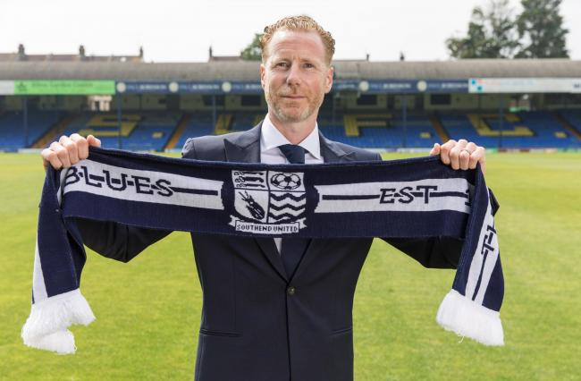 New boss - Mark Molesley has been named manager of Southend United   Picture: GRAHAM WHITBY BOOT/SUFC