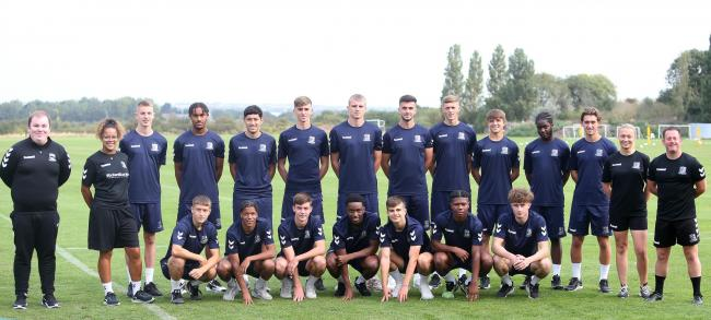 Ready - Southend United's youth team