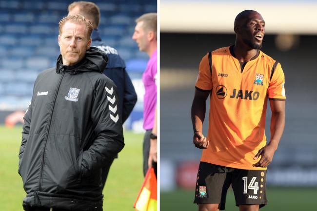 Linked - Simeon Akinola (right) is wanted by Southend United