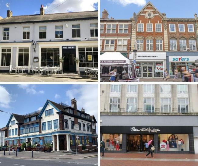 The commercial properties for sale in Southend. (Images all courtesy of Rightmove).