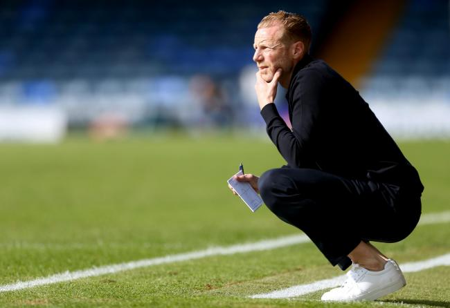 Wanting a positive reaction - Southend United boss Mark Molesley is demanding an improved display against Carlisle United this weekend