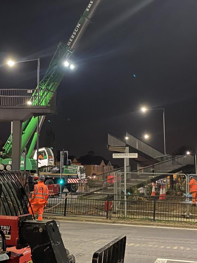 Work under way. Credit: Southend Council