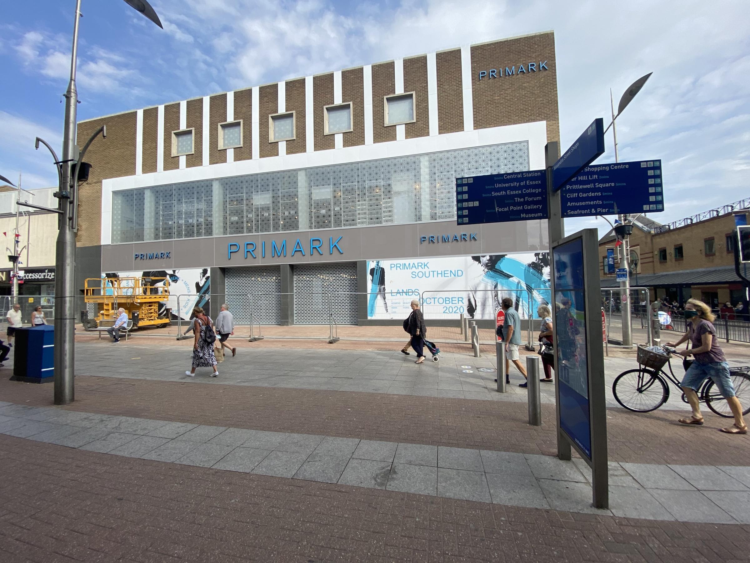 New Primark superstore in Southend announces opening date | Echo - Echo