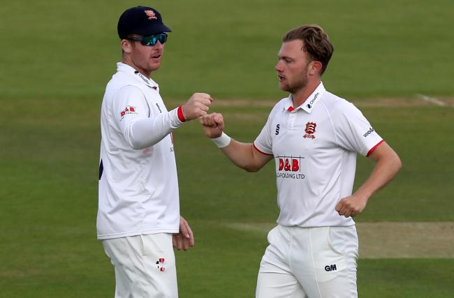 Doing well - Essex bowler Sam Cook    Picture: GAVIN ELLIS/TGS PHOTOS