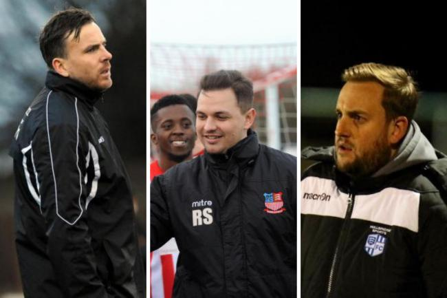 Busy weekend - for non league managers including Mark Bentley, Rob Small and Darren Manning