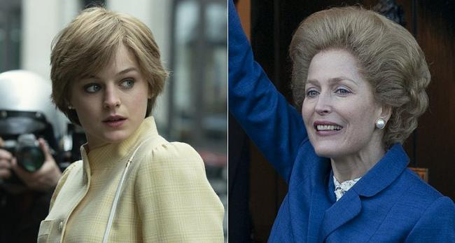 First Look At The Crown As Princess Diana And Margaret Thatcher Join Hit Show Echo