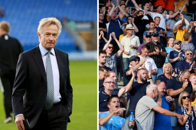 Meeting - Ron Martin held talks with Southend United fans