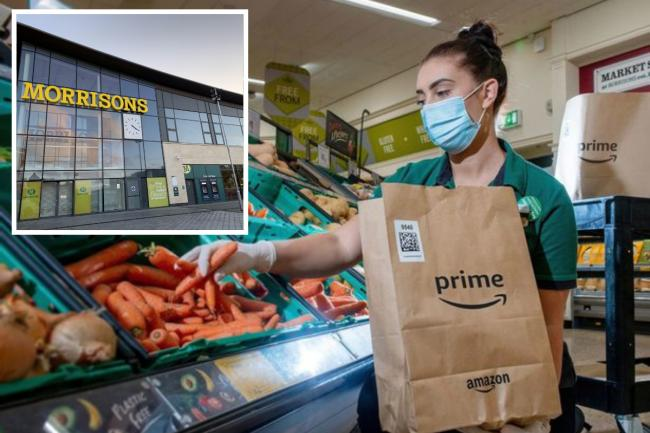 Morrisons have creates 1,000 jobs to fulfil Amazon orders in UK stores