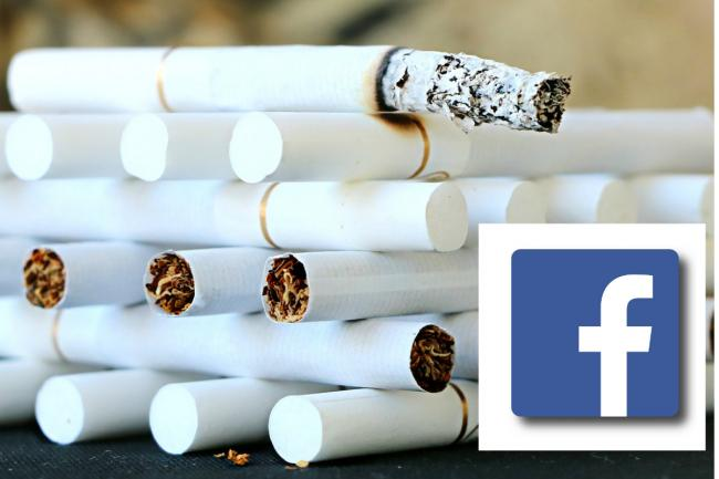 Men caught selling fake cigarettes on Facebook