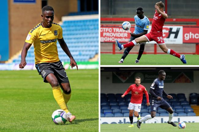International call-up - for Southend United defender Elvis Bwomono