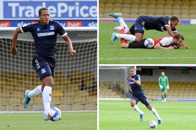 Staying confident - Southend United defender Shaun Hobson