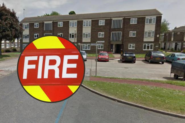 Firefighters rush to kitchen fire caused by unattended cooking