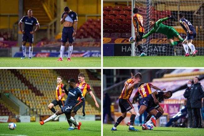 Beaten - Southend United lost 3-0 at Bradford City