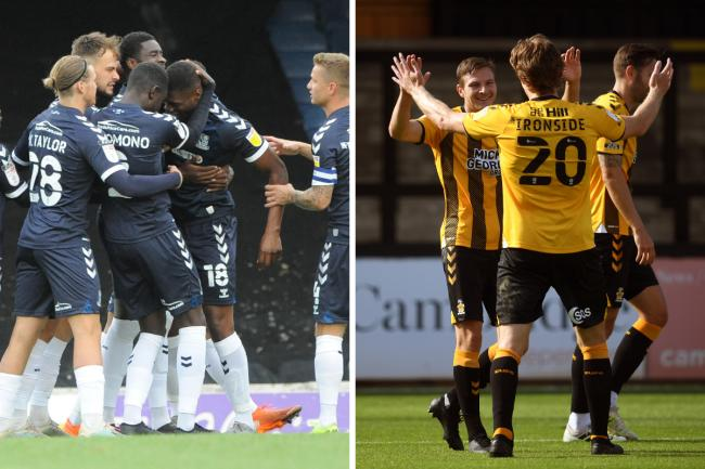 Going head to head - Southend United and Cambridge United