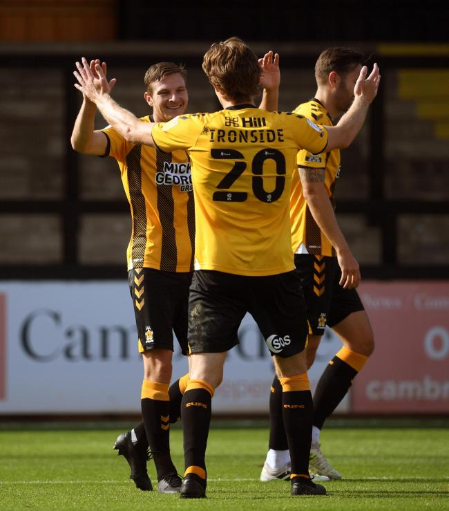 Frustrated - Cambridge United feel their game at Southend United could have gone ahead
