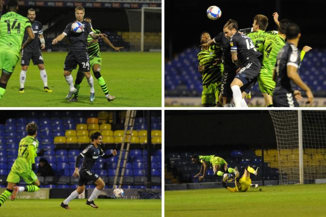 Tough night - Southend United lost 1-0 at home to Forest Green Rovers