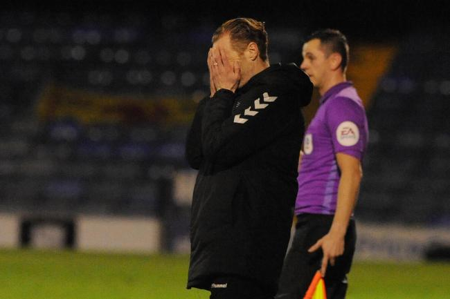 Tough to take - Southend United manager Mark Molesley saw his side beaten 1-0 by Forest Green Rovers
