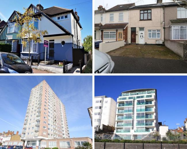 The homes that won't sell in Southend (All images - Zoopla).