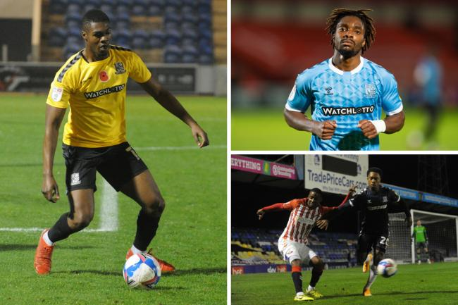 Missing out - Emile Acquah, Kazaiah Sterling and Ashley Nathaniel-George are still sidelined for Blues